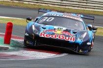 Red Bull Ring: Lawson wint in de... Red Bull Ferrari