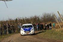 Rally van Haspengouw: Pacolet eerste leider bij de juniors