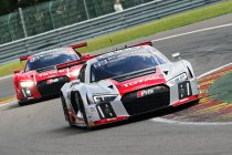 24H Spa: Na 16H: WRT Audi #2 neemt de leiding over