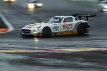 24H Spa: Na 6H: Mercedes sleept eerste punten in de wacht