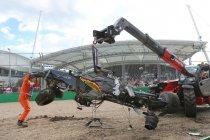 Motor Fernando Alonso te zwaar beschadigd voor verder gebruik