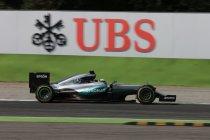 Verenigde Staten: Hamilton op pole vóór Rosberg