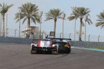 Gulf 12H: Crash Barwell Motorsport Lamborghini