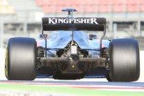 F1 wintertesten: Close-up's en technische details