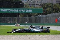 Australië: Pole voor Hamilton - Problemen voor McLaren en Vandoorne