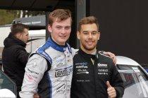 Mathieu Detry en Laurent Jaspers op een Audi R8 LMS van JAC Motors op de Nürburgring