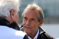 België: Jacky Ickx geeft demonstratie met Ferrari 312 B