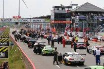 Zolder: 21 GT3's aan de start - Boutsen Ginion van de partij