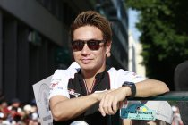 Dream Race: Kamui Kobayashi naast Zanardi bij BMW