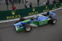 Onboard met Mick Schumacher in de Benetton B194 (+ Video)