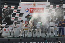 24H Spa: De vreugdetaferelen na de race