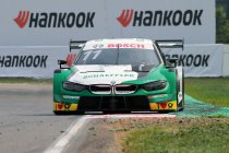 Assen: Wittmann (BMW) houdt Audi's achter zich in de regen