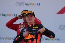 Max Verstappen tot en met 2023 bij Red Bull Racing
