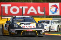 24H Spa: Porsche domineert Warm Up
