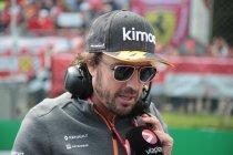 Fernando Alonso test de Renault R.S.20 in Abu Dhabi