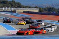 16 wagens voor Winter GT Series races te Paul Ricard