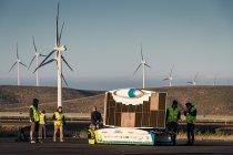 Belgische zonnewagen behoudt koppositie na eerste bergetappe Carrera Solar Atacama