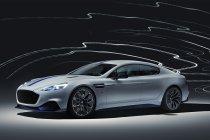 Aston Martin toont eerste elektrische auto, de Rapide E (+ Foto's & video)