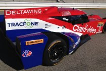 24H Daytona: DeltaWing met opvallende kleurenstelling na crash