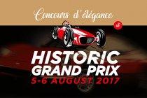 Circuit Zolder Historic Grand Prix en Concours d'élégance