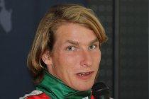 Freddie Hunt aan de start van de GT4 European Series Northern Cup