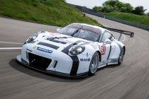 Nick Catsburg met Porsche in de V.S.