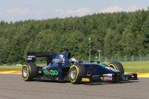 GP2: Spa: Sam Bird pakt op overtuigende wijze de pole voor de hoofdrace