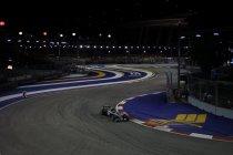 Singapore: Nico Rosberg snelste, voor Verstappen die groot reptiel op de piste tegenkomt
