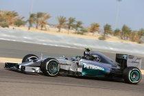Bahrein: Mercedes zet de rest op een seconde in de vrije training