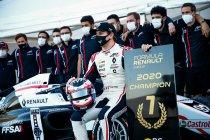 Paul Ricard: Victor Martins is de nieuwe kampioen Formule Renault Eurocup