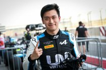 Bahrein: Guanyu Zhou snelste in kwalificatie Formule 2