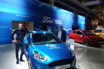 Ford Fiesta Sport Trophy: van het Autosalon naar Ford Lommel Proving Ground!