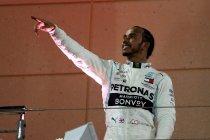 Hamilton profiteert van missers Ferrari in Bahrein