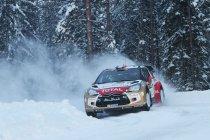 Rally van Zweden: Ogier en Volkswagen op een haar van de zege