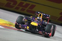 Singapore: Vettel speelt met vuur maar pakt toch de pole