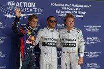 Silverstone: Hamilton pakt pole voor zijn thuispubliek
