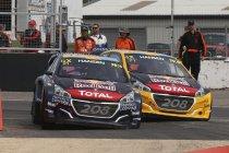 Silverstone: Timmy Hansen leider na nieuwe zege