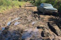 Rally van Argentinië geteisterd door modder
