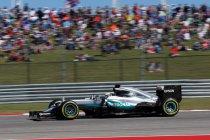 Verenigde Staten: 50ste zege voor Hamilton - Rosberg tweede