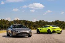 Aston Martin presenteert de nieuwe Vantage V8 (+ Foto's)