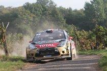 Rally van Frankrijk: Loeb pakt de leiding na hattrick - Neuville klampt aan