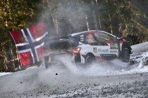 WRC: Evans op een zucht van Zweedse winst