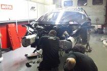 24H Spa: ART GP tracht zwaar gecrashte McLaren te herstellen