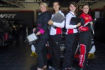 Vier sterke vrouwen achter het Belgian Audi Club Team WRT