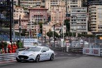 Aston Martin Rapid E maakt eerste publieke meters in Monaco