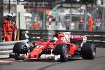 Monaco: VT2: Vettel primus – Vandoorne elfde