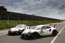 Porsche met een goud randje naar Le Mans