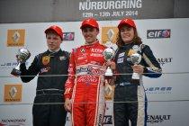 FR 1.6 NEC: Nürburgring: race 1: Max Dufourny voor tweede maal op het podium