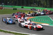Monza: Winst voor Toyota - WRT pakt podium in LMP2