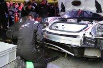 24H Zolder: Newsflash: Chaos na regen - Goossens crasht - Opgave Kronos Porsche (Update)